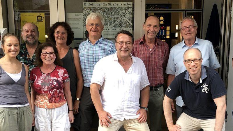 Vorstand Vringstreff direkt nach der Wahl am 05.07.2018