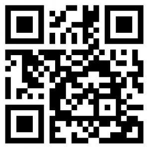 QR-Code für die Website von Refill Deutschland, erzeugt für den Blogpost vom Vringstreff